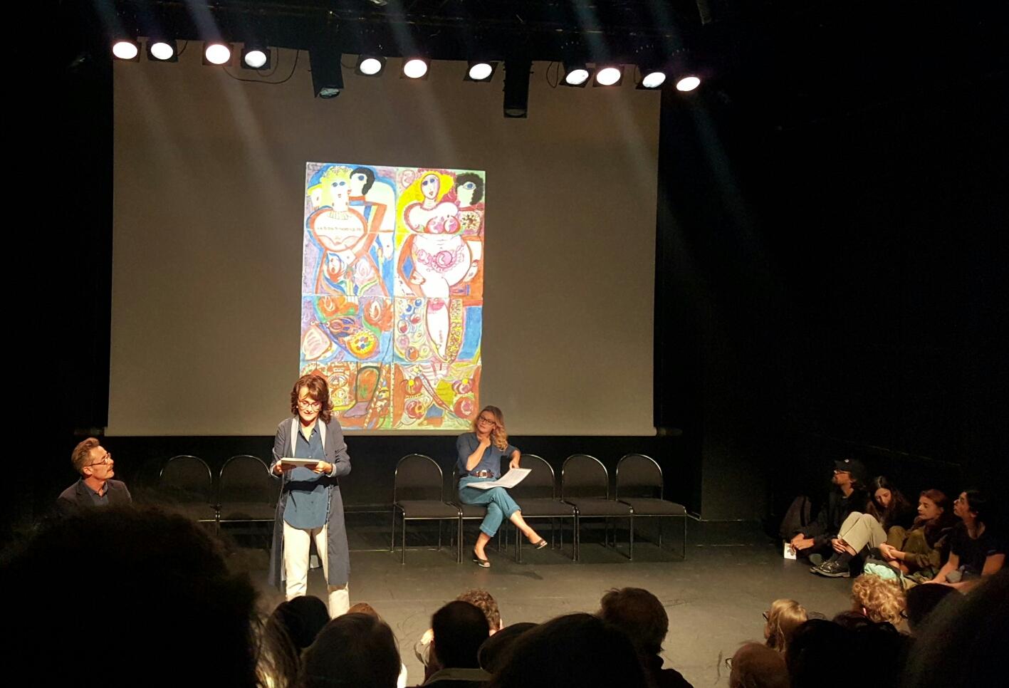 2017 09 12 centre culturel Suisse avec Alain Fromager